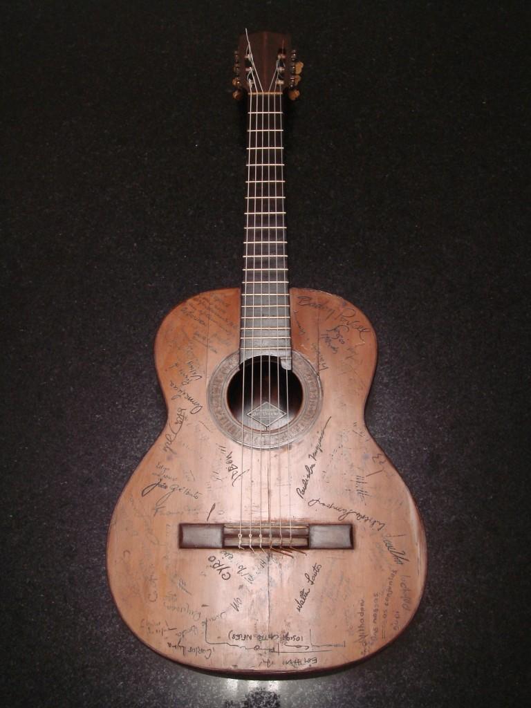 Meu violão de estimação