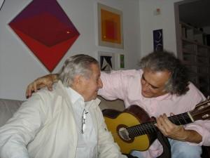 Com Joca na casa de Zezito Marques da Costa